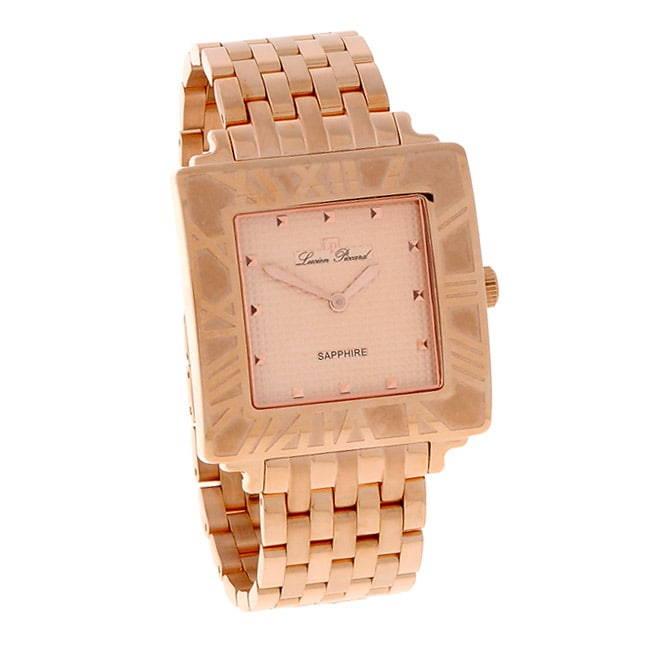 Lucien Piccard Nova Collection Rose Goldtone Watch