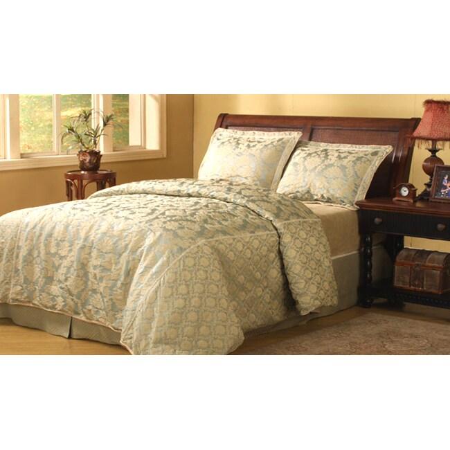 Buckingham Sage 4-piece Comforter Set