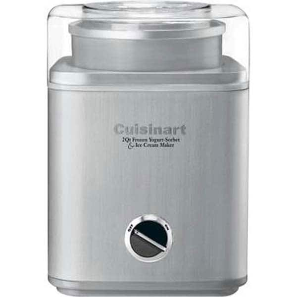 Cuisinart Stainless Steel Ice Cream Maker (Refurbished)