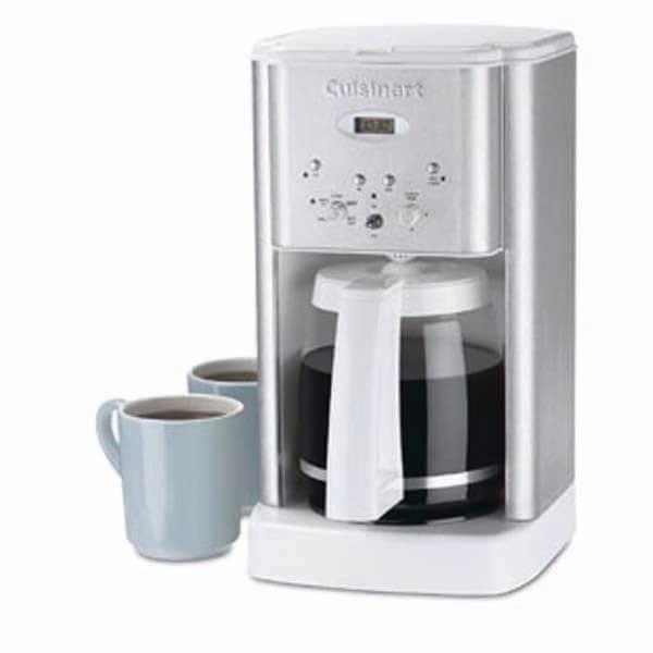 Cuisinart DCC-1200WFR White Coffee Maker (Refurbished)
