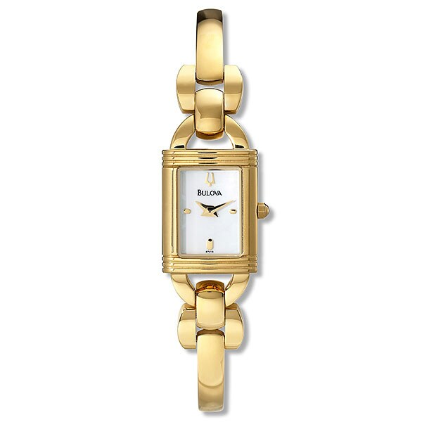Bulova Goldtone Women's Bracelet Quartz Watch