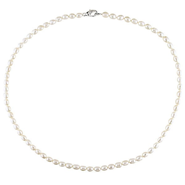 Cultured Freshwater Pearl Necklace 4-5mm/ 18in (MSRP 49.99)
