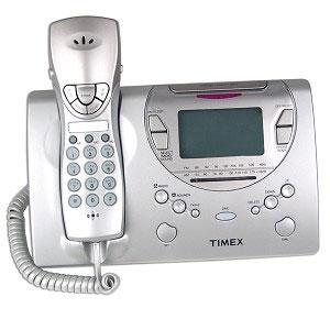 timex talking caller id clock radio phone free shipping. Black Bedroom Furniture Sets. Home Design Ideas
