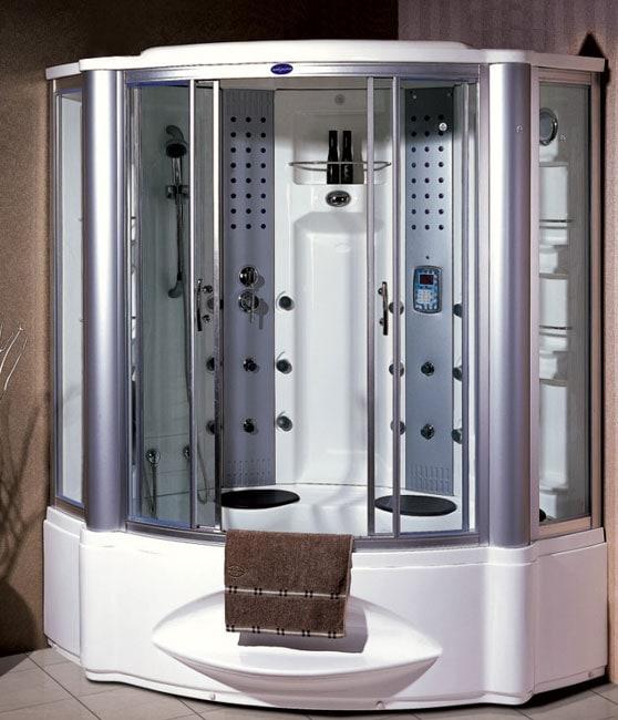 Shop Wasauna Castelo Steam Shower Amp Whirlpool Free