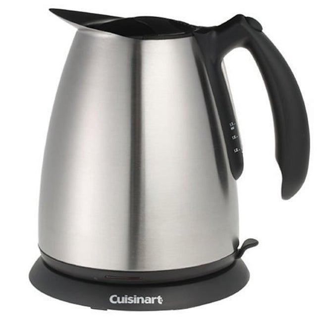 Cuisinart Electric Tea Kettle Refurbished Free