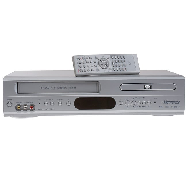 Memorex Progressive Scan MVD4543 DVD VCR Player