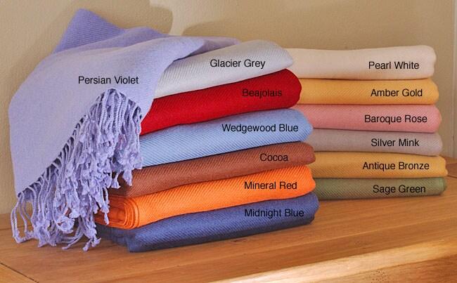 Himalaya Luxury Cashmere Throw Blanket