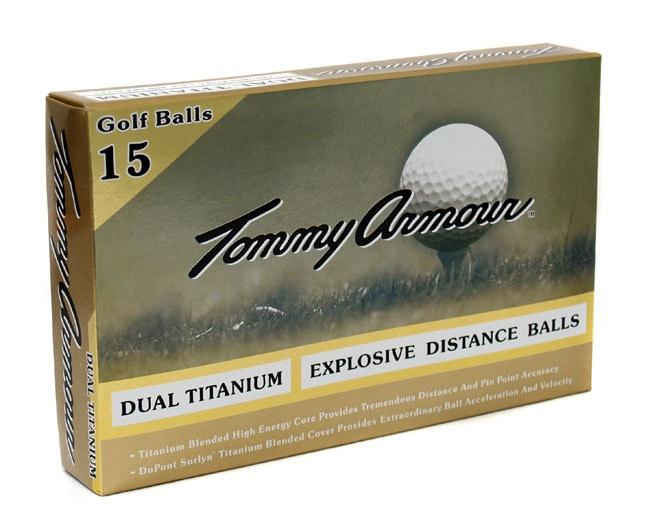 Tommy Armour Dual Titanium Golf Balls (45 Balls)