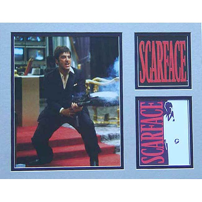 Scarface Deluxe Matted Print (11 x 14)
