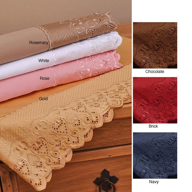 Lace Luxury 600 Thread Count Cotton Sheet Set