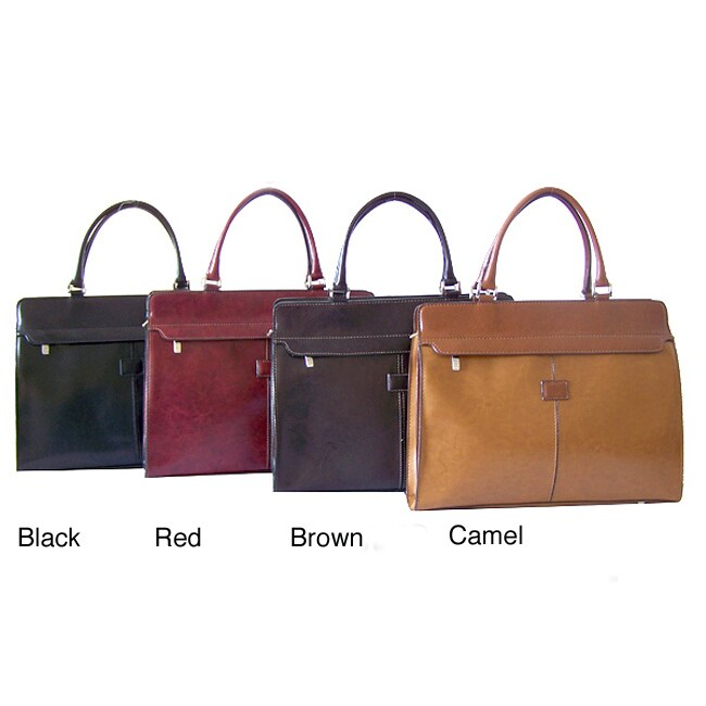 Rina Rich Women's Synthetic Leather Briefcase
