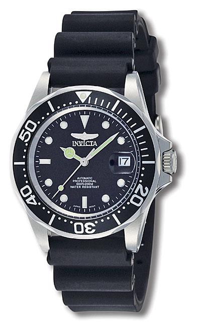 Invicta Men's Men Automatic Pro Diver S2 9110 Black Rubbe...