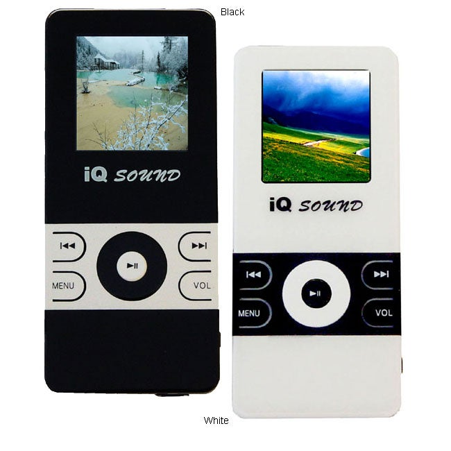 1.5-inch LCD 1GB MP3/ MP4 Player with FM Tuner