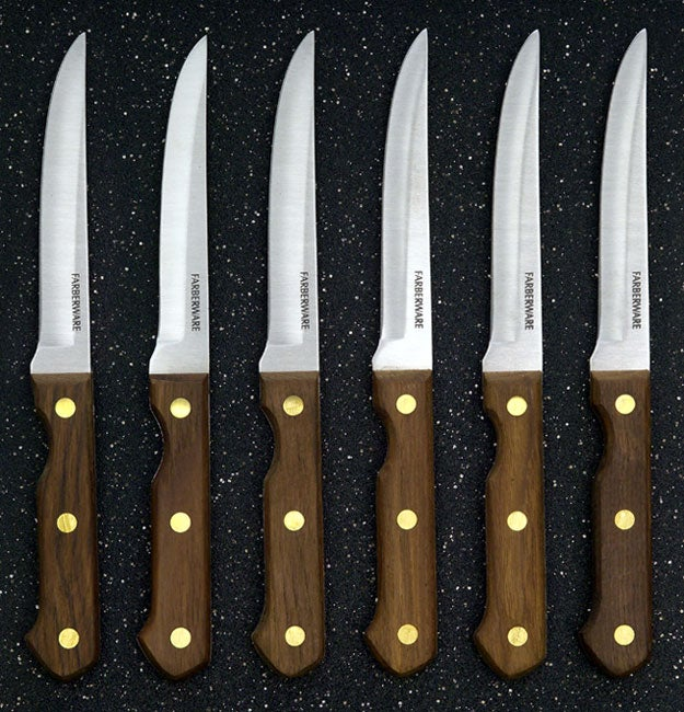 Farberware Pro Wood Handle 6 Piece Knife Sets Pack Of 3