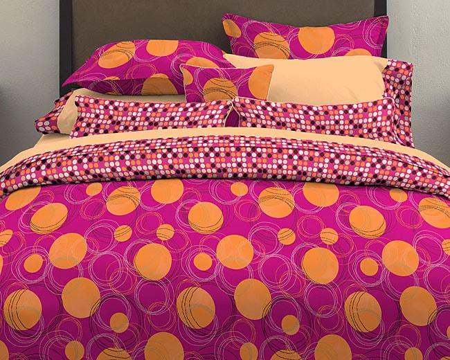 Spot On Fuschia 7-piece Bed in a Bag
