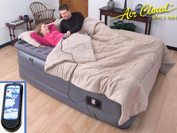 Air Cloud High-rise Pillowtop King Size Air Bed