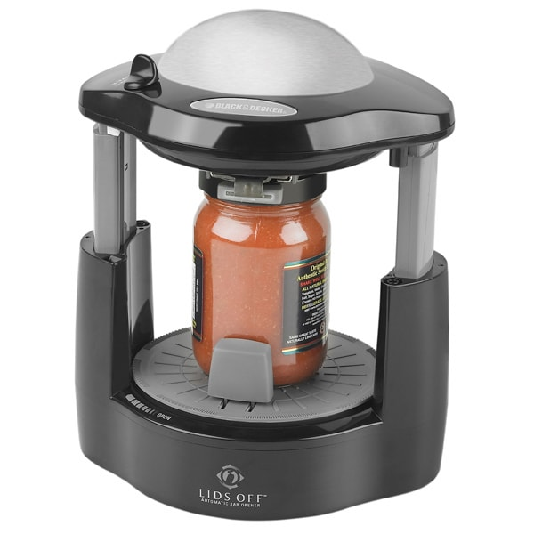 Black Amp Decker Lids Off Automatic Jar Opener Free