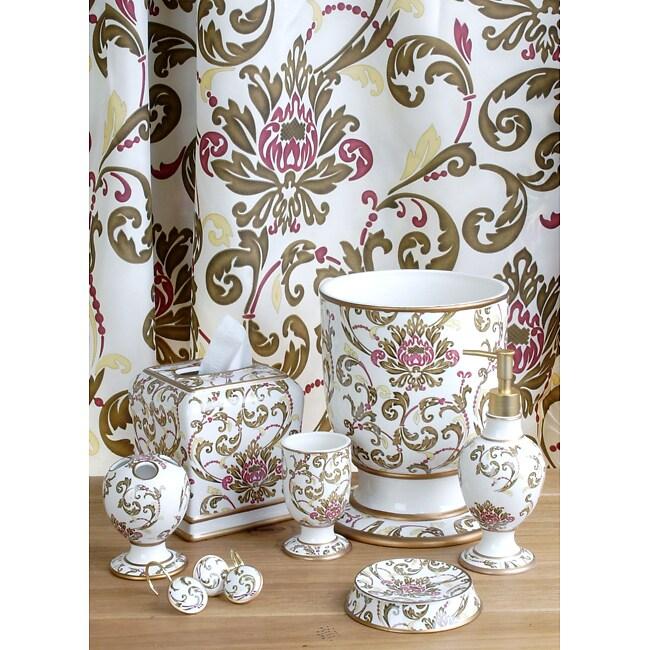 charisma bathroom accessory set w shower curtain