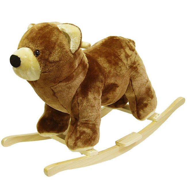 Plush Children's Rocking Bear