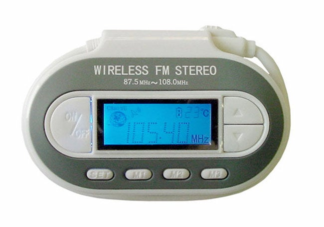 Wireless FM Transmitter for iPod/ MP3 Player
