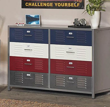 Beau Boyu0026#x27;s Locker 8 Drawer Dresser