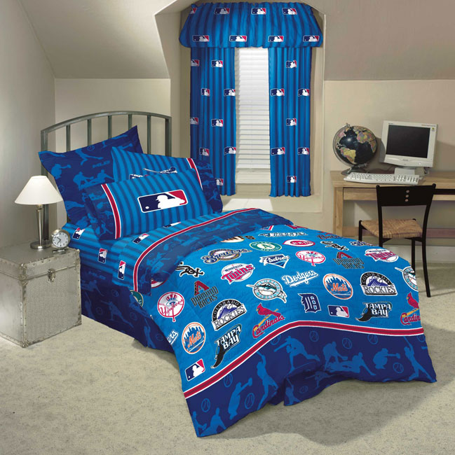 Mlb Playoff Comforter With Sheet Set Free Shipping Today