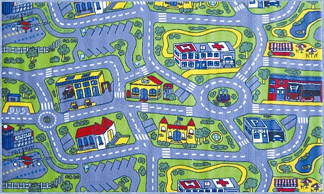 Driving Time Rug (4'3 x 6'6)