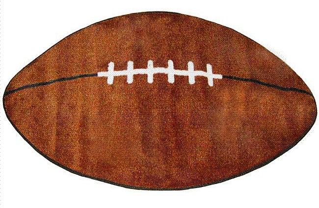 Football Rug (2'4 x 3'9)