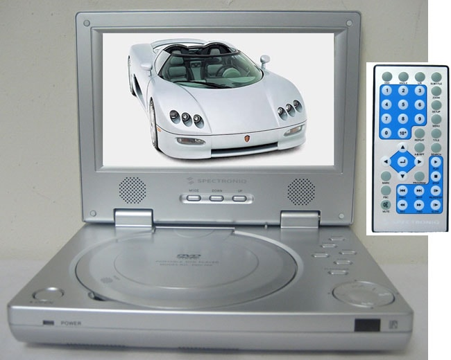Spectron IQ 7-inch Portable DVD Player
