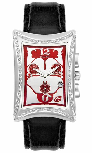 elini nazar diamond chrono unisex watch   free shipping