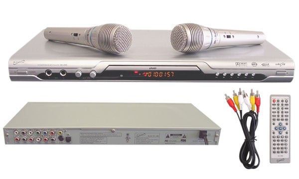 5.1-channel Karaoke DVD Player with 2 Microphones