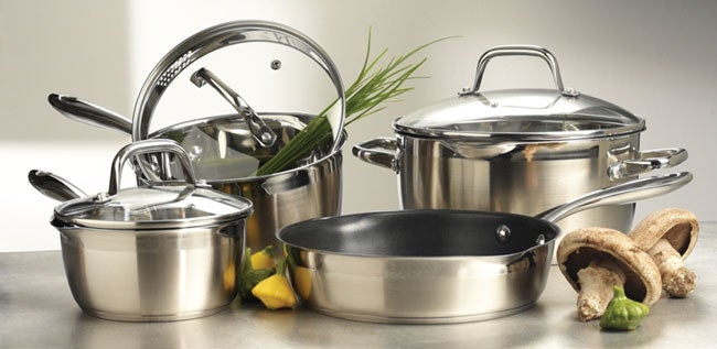 Cook and Pour 7-piece Pan and Dutch Oven Set
