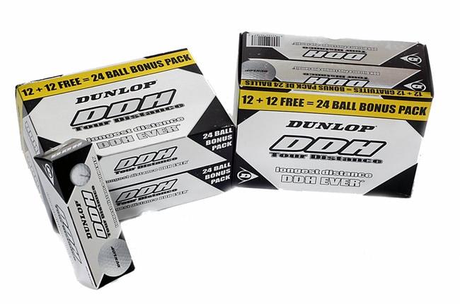 Dunlop DDH Tour Distance 48 Pack Golf Balls