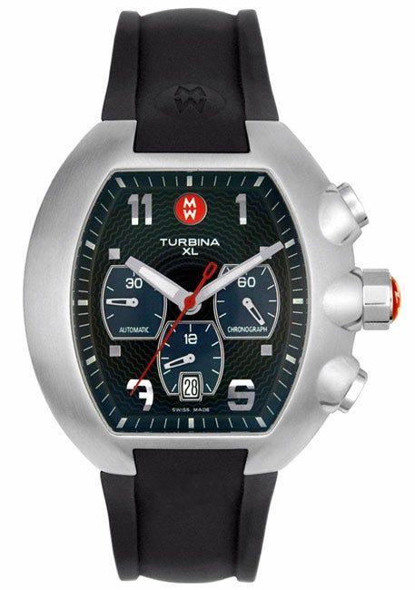 Michele Men S Turbina Xl Chronograph Watch Free Shipping