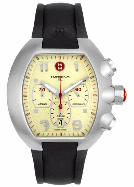 Michele Men S Turbina Xl Chrono Watch Free Shipping