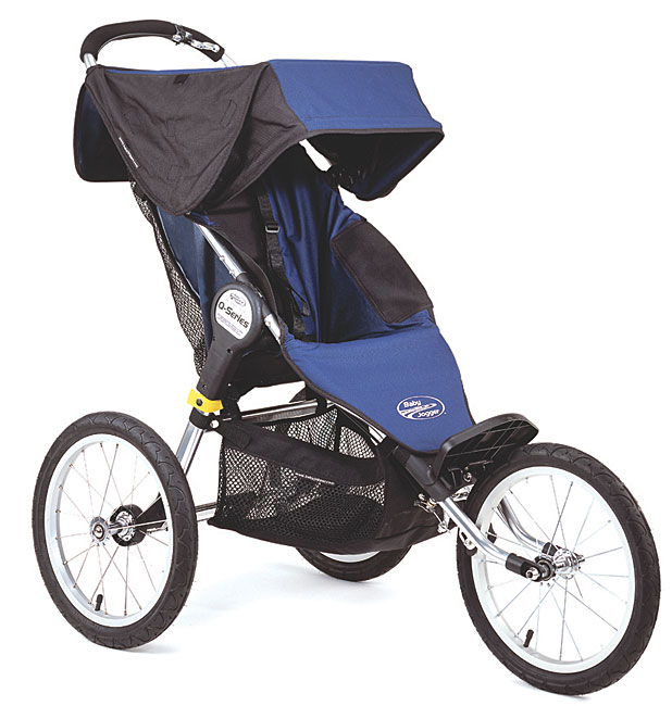 Baby Jogger Q-Series Single Navy Jogging Stroller