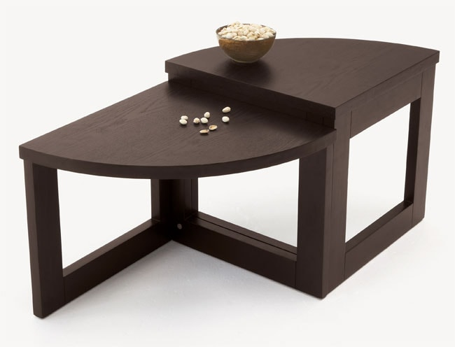 wedge coffee table - free shipping today - overstock - 10760737
