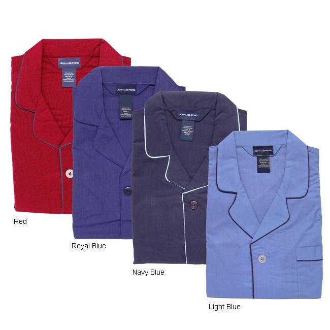 0e8e182e16da4 Shop John Ashford Long-sleeve Men's Pajama Set - Free Shipping On Orders  Over $45 - Overstock - 2542547
