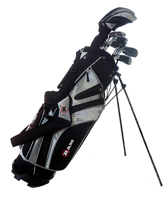 Ram Golf G Force 14 Piece Complete Rh Golf Set Free