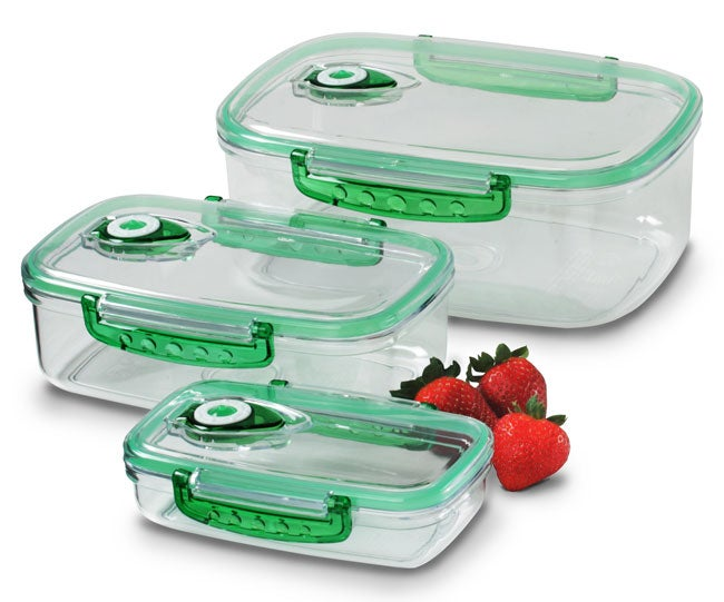 Freshvac Professional Rectangular Food Storage Containers