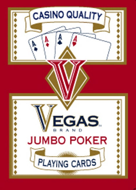 Casino quality vegas brand jumbo poker playing cards gambling in exuma