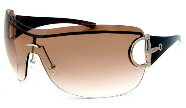 Gucci Shield Sunglasses  gucci 2711 oversized shield sunglasses free shipping today