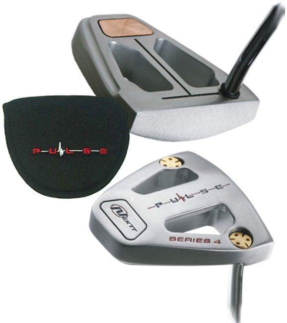 Nextt Golf Pulse #4 Brass Weighted Mallet Putter