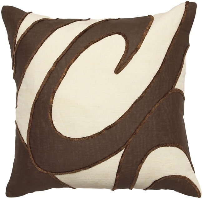 Chocolate Swirl Collection Throw Pillows (Set of 2