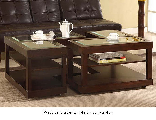 L Shaped Contemporary Accent Table Free Shipping Today
