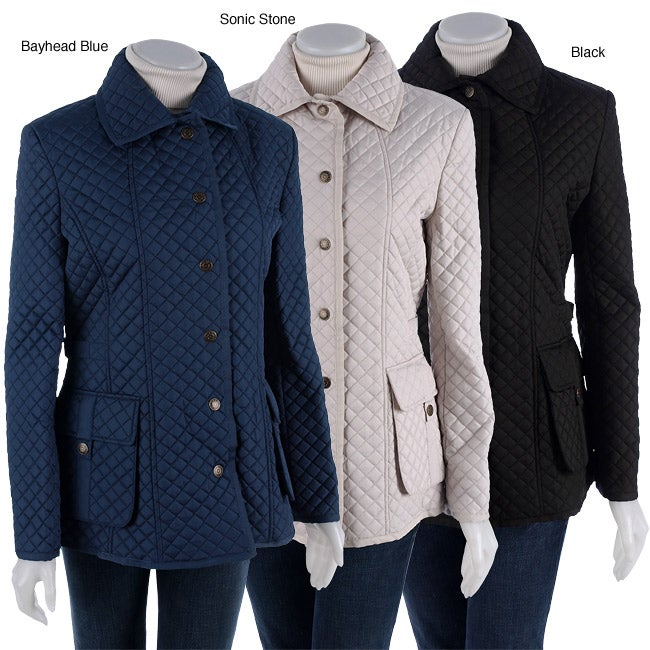 Tommy Hilfiger Heritage Quilted Barn Coat Free Shipping