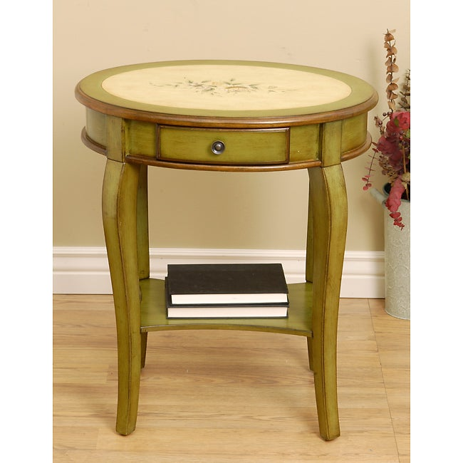 Hand Painted Round Accent Table Free Shipping Today