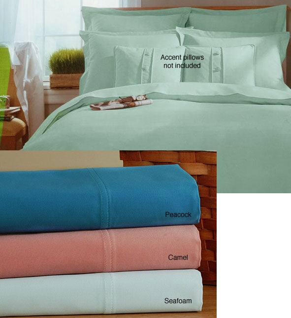 Luxury 1200 Thread Count Sateen Duvet Cover Set