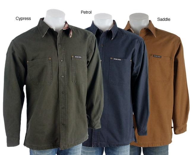 Moose Creek Men's Logger Heavy Flannel-lined Shirt