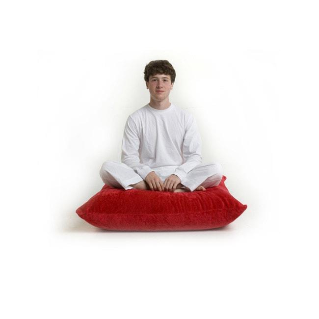 Big Joe Floor Pillows : Zoe Red Floor Pillows - Free Shipping Today - Overstock.com - 10779659